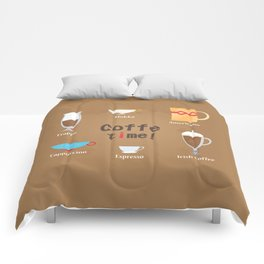 Coffe Time! Comforters