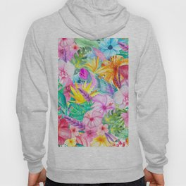 beauty floral i Hoody