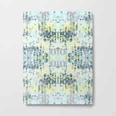 Spring Rain Tribal Metal Print