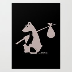 The Original Bear Art Print