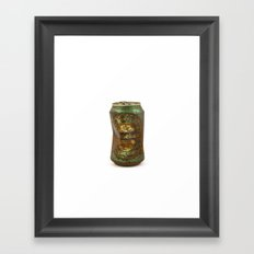 the mean streets Framed Art Print