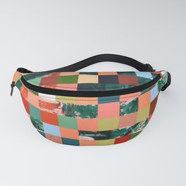 Colorfield Painting Fanny Pack