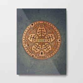 Tokyo manhole Metal Print