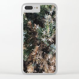 Browning Bush Clear iPhone Case