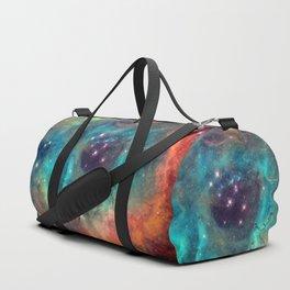 Colorful Nebula Galaxy Duffle Bag