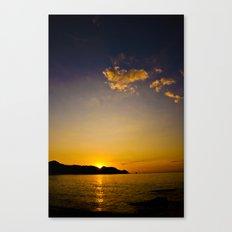 Sun Down Canvas Print