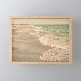 Tropical Beach Love Framed Mini Art Print