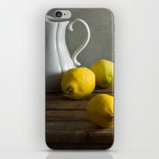 Three lemons iPhone & iPod Skin