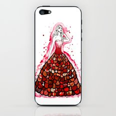 The Red Dress iPhone & iPod Skin