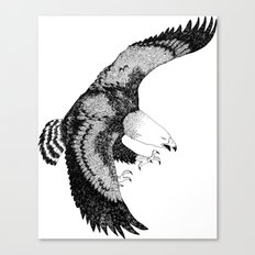 KING EAGLE Canvas Print