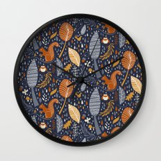 Vive l'automne !  Wall Clock