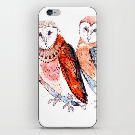 LOVE owls iPhone & iPod Skin