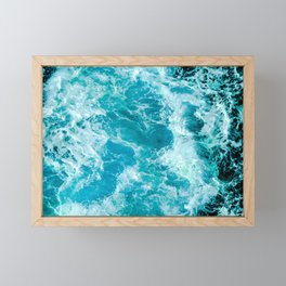 Sea Me Waving Framed Mini Art Print