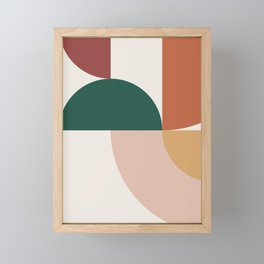 Abstract Geometric 12 Framed Mini Art Print