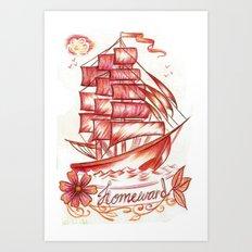 Homeward Bound Art Print