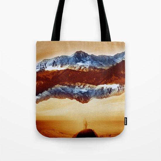 Vibrant Mountain Tote Bag