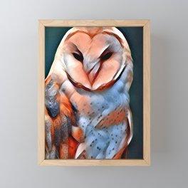Barn Owl Framed Mini Art Print