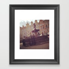 Statues Framed Art Print