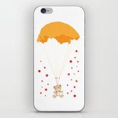 Landing Bear iPhone & iPod Skin