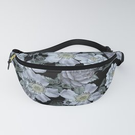 Roses at Night Fanny Pack
