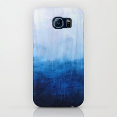 All good things are wild and free - Ocean Ombre Painting Slim Case Galaxy S8