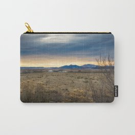 Forever West - Warm Light on a Cold Winter Morning in New Mexico Carry-All Pouch