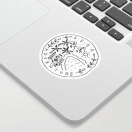 Seek Adventure Sticker