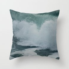 wave motion // no. 8 Throw Pillow