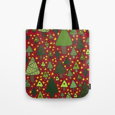 Small Trees Tote Bag