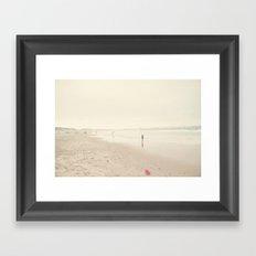 surfing life Framed Art Print