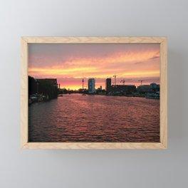 Spree Sunset I Framed Mini Art Print