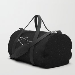 Gemini Star Sign Night Sky Duffle Bag