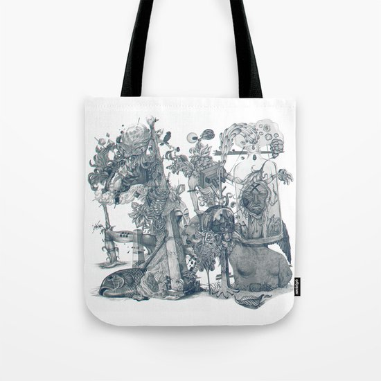 seam imaginations Tote Bag