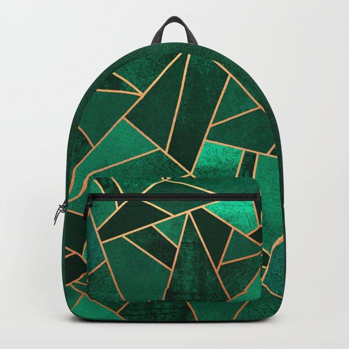 Emerald and Copper Rucksack