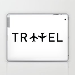 Travel and enjoy Laptop & iPad Skin