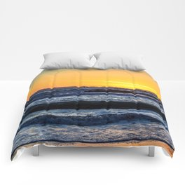 Catalina Sky - Surf City USA Comforters