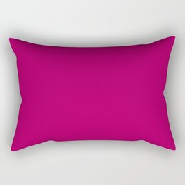 Gifts from the Garden ~ Red-violet Rectangular Pillow