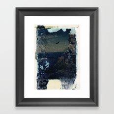 Diver Framed Art Print