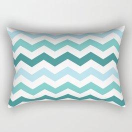 Chevron forest Rectangular Pillow