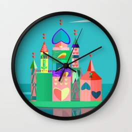 Solitary Castle Wall Clock