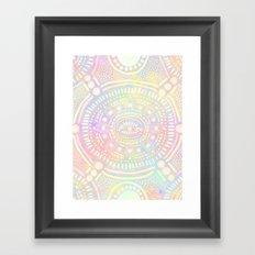 Eye of Spirit II Framed Art Print