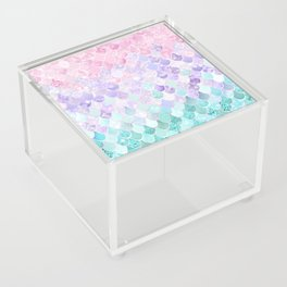 Mermaid Pastel Iridescent Acrylic Box