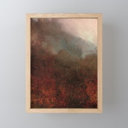 FOREST FIRE Framed Mini Art Print