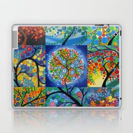 forest of dreams collages Laptop & iPad Skin