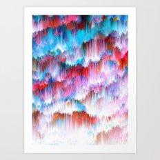 Raindown Art Print