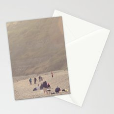sandy sausages by the sea shore... Stationery Cards