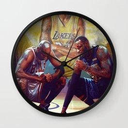 K.B King of Basketball Wall Clock
