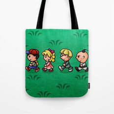 Earthbound Guys Tote Bag