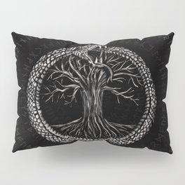 Ouroboros with Tree of Life Pillow Sham