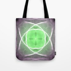 Lilac and Green Tote Bag